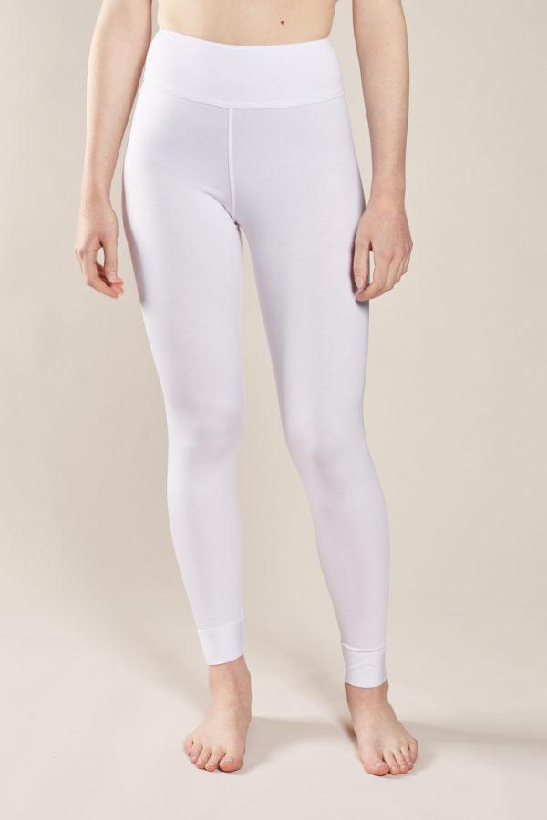 legging femme blanc